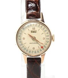 【中古】モバード 腕時計 手巻き レディース MOVADO
