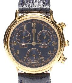 【中古】訳あり ジバンシー 腕時計 クオーツ ブルー メンズ GIVENCHY