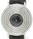 90位:【中古】ピアジェ 腕時計 K18WG ライムライトパーティー クオーツ ブラック G0A32166 P10484 レディース PIAGET