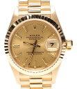 【中古】ロレックス 腕時計 デイトジャスト 自動巻き ゴールド 69178 レディース ROLEX