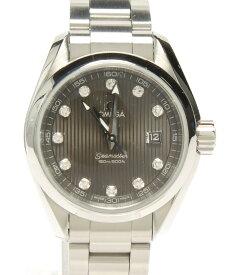 【中古】オメガ 腕時計 シーマスター アクアテラ クォーツ 91409995 メンズ OMEGA