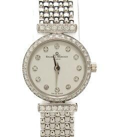 【中古】ボームアンドメルシエ 腕時計 クォーツ MVO45148 レディース BAUME&MERCIER