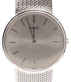 【中古】ピアジェ 腕時計 自動巻き シルバー レディース PIAGET