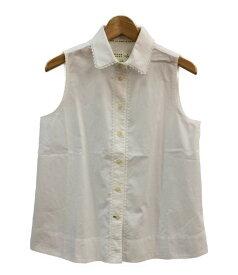 【中古】ケイトスペード ノースリーブシャツ BROOME STREET レディース SIZE XS (XS以下) kate spade