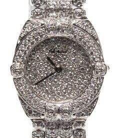 【中古】ショパール 腕時計 クオーツ シルバー レディース chopard