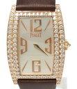 【中古】美品 ピアジェ 腕時計 ライムライトXL クオーツ シェル P10266 レディース PIAGET