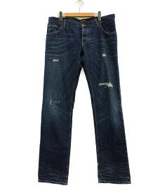 【中古】美品 ドルチェアンドガッバーナ ダメージ加工 デニムパンツ メンズ SIZE 50 (L) DOLCE&GABBANA
