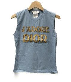 【中古】クリスチャンディオール J'ADORE DIOR タンクトップ レディース SIZE 4 (S) Christian Dior