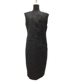 【中古】美品 ランバンコレクション スパンコール装飾ノースリーブワンピース レディース SIZE 40 (M) LANVIN COLLECTION