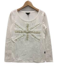 【中古】美品 エポカ スパンコール 長袖Tシャツ レディース SIZE 40 (S) EPOCA