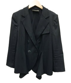 【中古】エンポリオアルマーニ テーラードジャケット レディース SIZE 48 (XL以上) EMPORIO ARMANI
