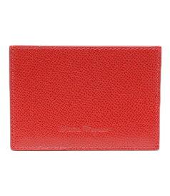 【中古】美品 サルバトーレフェラガモ カードケース OT-660972 レディース Salvatore Ferragamo