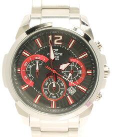 【中古】カシオ 腕時計 クロノグラフ EDIFICE クオーツ ブラック EFR-535 メンズ CASIO