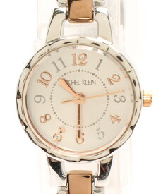 【中古】ミッシェルクラン 腕時計 クオーツ シルバー 1N01-K958 レディース MICHEL KLEIN