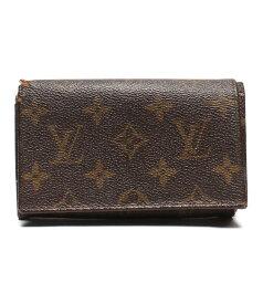 【中古】ルイヴィトン 二つ折り財布 ポルトフォイユ トレゾール モノグラム M61730 ユニセックス Louis Vuitton