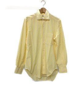 【中古】ルイジボレッリ 長袖ドレスシャツ メンズ SIZE 39 (S) LUIGI BORRELLI