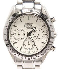 【中古】シャルルホーゲル 腕時計 クオーツ CV-7871R メンズ Charles Vogele