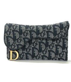 【中古】 クリスチャンディオール 長財布 トロッター レディース Christian Dior