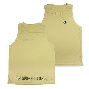 HXB 【PRACTICE MESH TANK】 Gold バスケットボール バスケ タンクトップ プラティクス バスケウェア スポーツ ゴールド