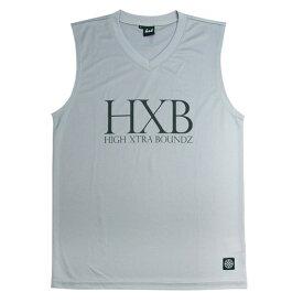 HXB Urvan【INNER NOSLEEVE】Gray バスケットボール バスケ ノースリーブ インナー バスケウェア プラクティス スポーツ 練習着