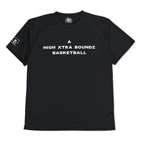 HXB ドライTEE【A】BLACK×WHITE バスケットボール Tシャツ