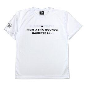 HXB ドライTEE【A】WHITE×BLACK バスケットボール Tシャツ