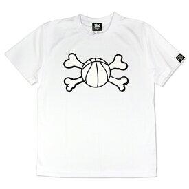 HXB ドライTEE【BALL HUNTER】WHITE バスケットボール バスケ シャツ Tシャツ バスケットボールウェア