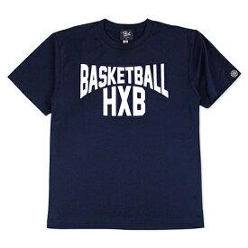 HXB ドライTEE【LENON】NAVY×WHITE バスケットボール Tシャツ