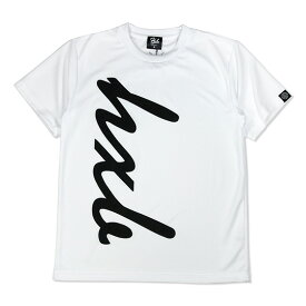 HXB ドライTEE 【HUGE LOGO】 WHITE×BLACK ホワイト バスケットボール Tシャツ