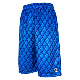 HXB Graphic Mesh Pants 【BRYAN】 BLUE/BLUE バスケットボールパンツ バスパン バスケショーツ バスケ バスケットボール burton バートン