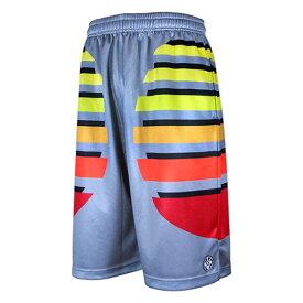 HXB Graphic Mesh Pants 【CRUZIN】 バスケットボールパンツ バスパン バスケショーツ バスケ バスケットボール burton バートン