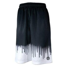 HXB Graphic Mesh Pants 【DRIPPING】 バスケットボールパンツ バスパン バスケショーツ バスケ スプレー グラフィティ