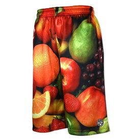 HXB × Futaba Fruits【Graphic Mesh Pants】Fruits バスケットボールパンツ フルーツ柄 バスパン フタバフルーツ