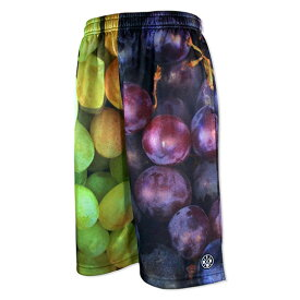 HXB Graphic Mesh Pants 【GRAPES】 バスケットボールパンツ バスパン フタバフルーツ グレープ マスカット ぶどう