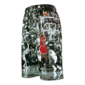 HXB Graphic Mesh Pants【CMYK DOTS (SMALL DOT)】 バスケットボールパンツ バスパン ドット柄