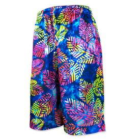 HXB Graphic Mesh Pants【Exotic Reef】 バスケットボールパンツ バスパン バスケショーツ バスケ バスケットボール
