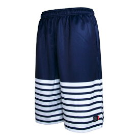 HXB Graphic Mesh Pants【Marine】 バスケットボールパンツ バスパン バスケショーツ バスケ バスケットボール