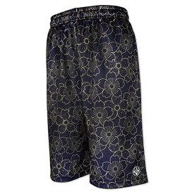 HXB Graphic Mesh Pants 【OHKA-MON】 バスケットボール 桜花紋 バスパン