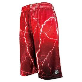 HXB Graphic Mesh Pants 【STRANGE THUNDER】 バスケットボール バスパン