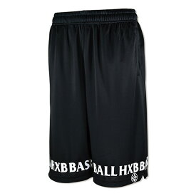 HXB EASY MESH PANTS 【FRIZ】 BLACK/BLACK バスケットボールパンツ バスパン