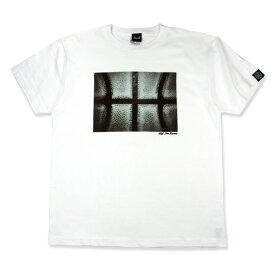 HXB コットンTEE【THE BALL】 White バスケットボール バスケ Tシャツ