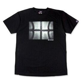 HXB コットンTEE【THE BALL】 Black バスケットボール バスケ Tシャツ