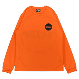 HXB DRY Long Sleeve Tee 【THE CIRCLE】ORANGE×BLACK バスケ ドライロンTEE