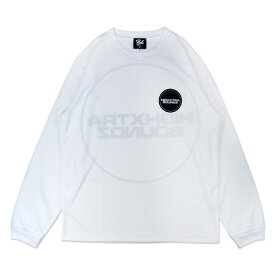 HXB DRY Long Sleeve Tee 【THE CIRCLE】 WHITE バスケ ドライロンTEE
