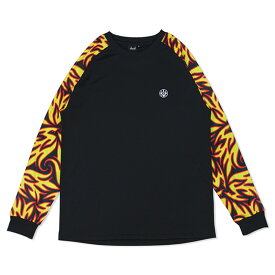 HXB Graphic Raglan Long Sleeve【LUDSCHI】Fire Zoom バスケットボール ドライロンTEE