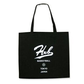 HXB 【トートバッグ】BLACK TOTE BAG ブラック バスケットボール バスケ バッグ