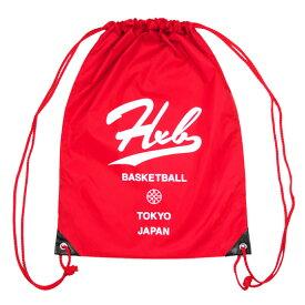 HXB 【KnapSack】RED/WHITE バスケットボール ナップサック