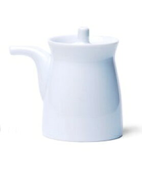 Hakusan porcelain G-type soy sauce pot large Japanese porcelain plates,  Hasami see ware kitchen supplies