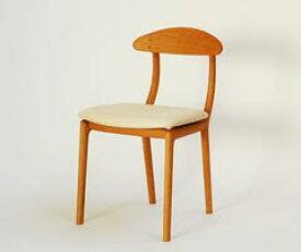 宮崎椅子製作所 KAKInoISU カキノイスチェア(背無垢) 古田恵介デザインデザイン Miyazaki Chair Factory