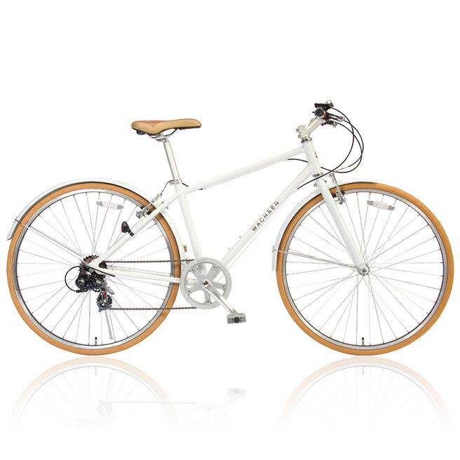 クロスバイク 700C BR-700 Reise リーゼ アルミフレーム シマノ6段変速 WACHSEN 泥除け【アルミクロスバイク 6段変速 ヴァクセン HW 自転車】[直送品]